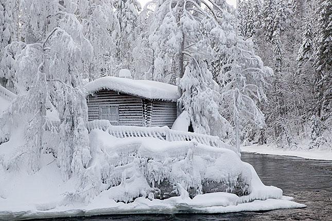 Oulanka, Log Cabin