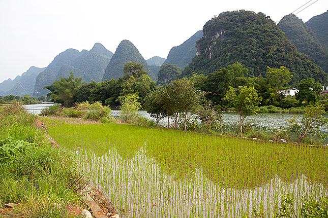 Yangshuo, Yulong River View 2