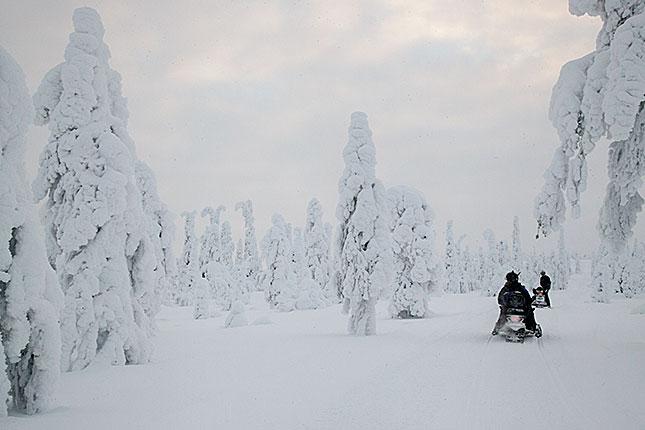 Ruuhintunturi, Snow Scooter