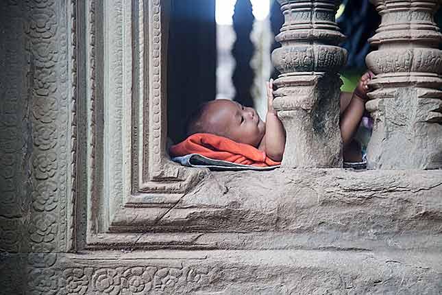 Angkor Wat, Baby
