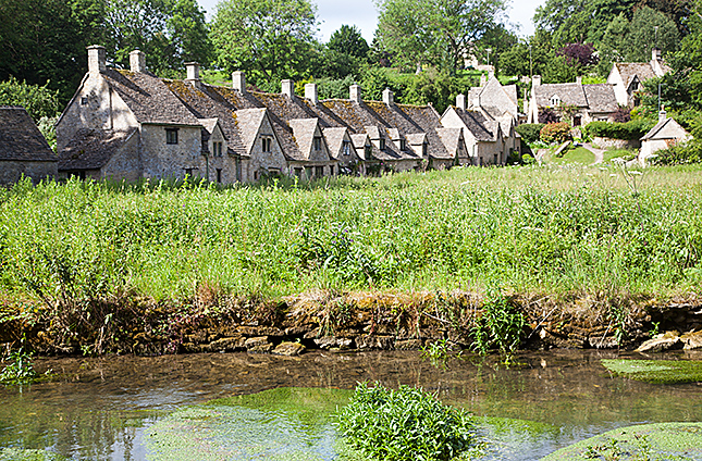 Bibury, Arlington Row