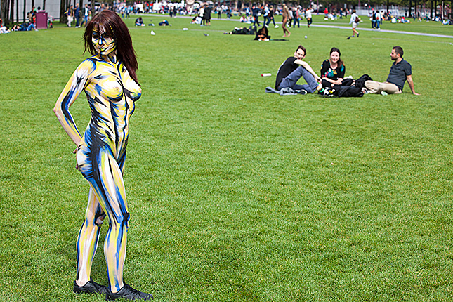 Amsterdam, Body Paint Day 7
